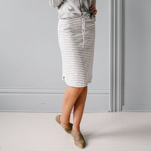 Ovi Striped Skirt